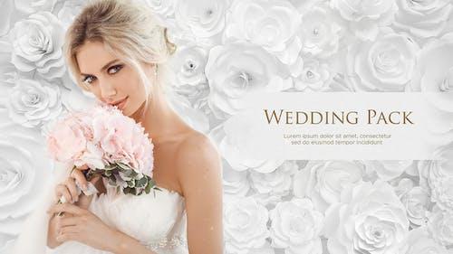Wedding Pack - White Roses