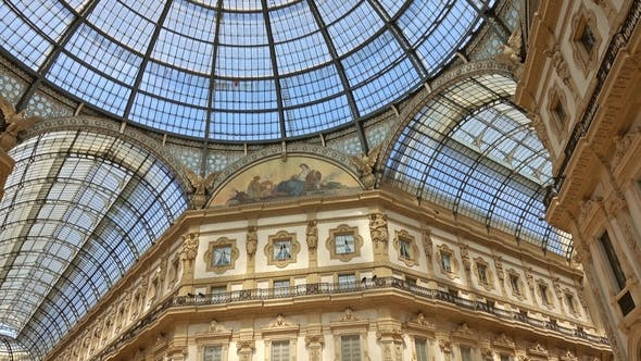 Thumbnail for Galleria Vittorio Emanuele II in Milan Italy