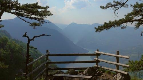 Banjska Stena Viewpoint at Tara Mountain in Serbia