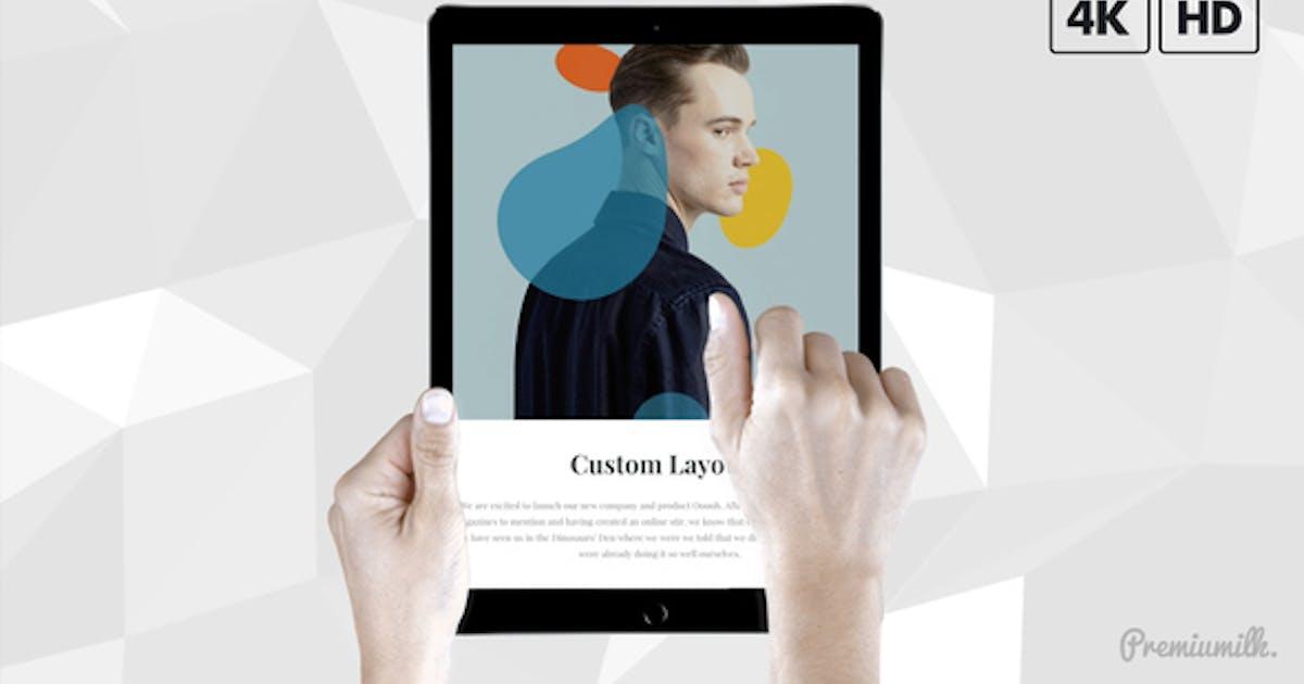 Download Pad Pro Web Promo | Black & White Hands by Premiumilk