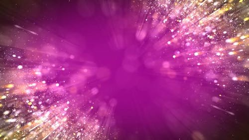 Fuchsia Particles Background