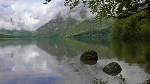 Bohinjsko Jezero Between Mountains in Slovenia