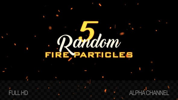 Thumbnail for Flying Fire Particles