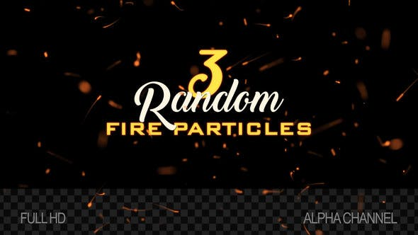Thumbnail for Fire Sparks / Particles