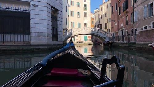 Riding a Gondola