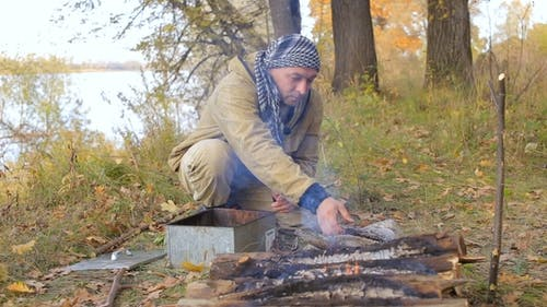 Fisherman Smokes Fish on Fire, Tourism