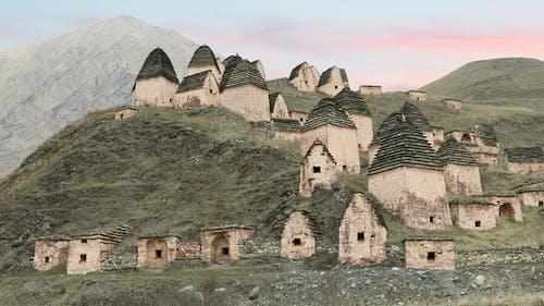 Ancient Alanian Necropolis in North Ossetia, Russia