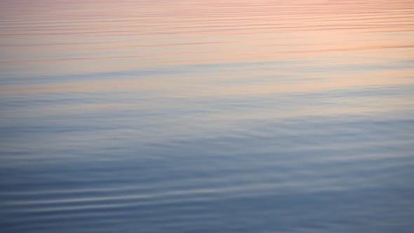 Thumbnail for Majestic Sunset Reflected in Calm Water Surface