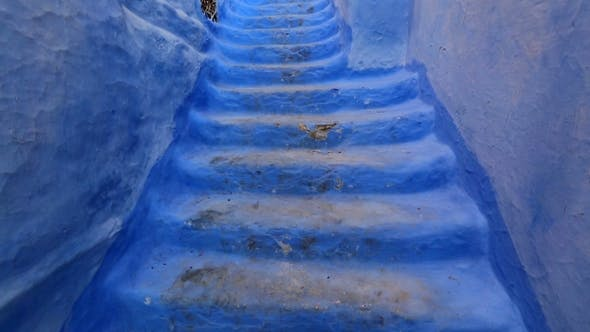 Thumbnail for Blue Stairs in Old City of Medina of Chefchaouen