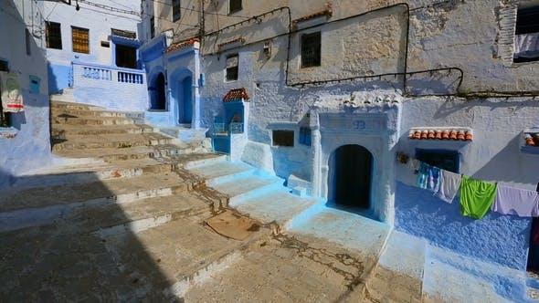 Thumbnail for Alte blaue Straße in Medina von Chefchaouen