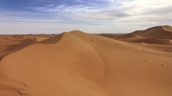 Thumbnail for Beatiful Panorama Landscape in Sahara Desert
