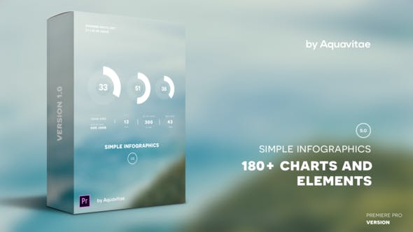 Thumbnail for Infografía Simple I MOGRT para Premiere Pro