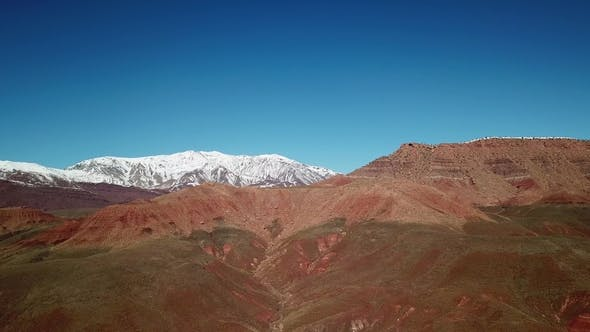 Thumbnail for Aerial Landscape of Atlas Mountains in Morocco