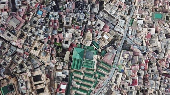 Thumbnail for Blick auf Gerberei in der Alten Medina in Fes