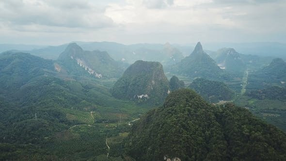 Thumbnail for View of Khao Sok National Park in Thailand