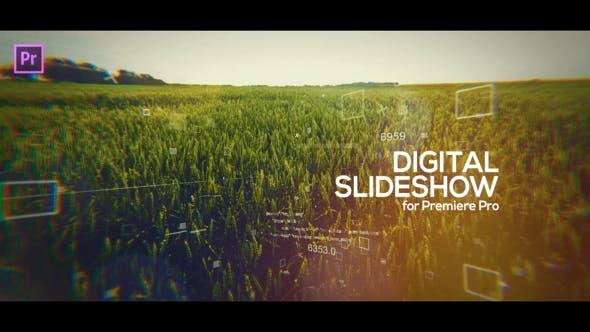 Thumbnail for Digital Slideshow for Premiere Pro