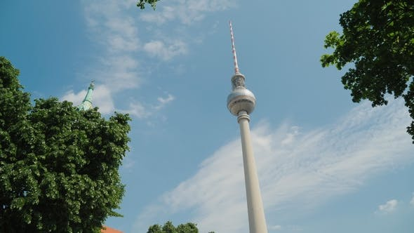 Thumbnail for One of the Symbols of Berlin Is the Berlin TV Tower