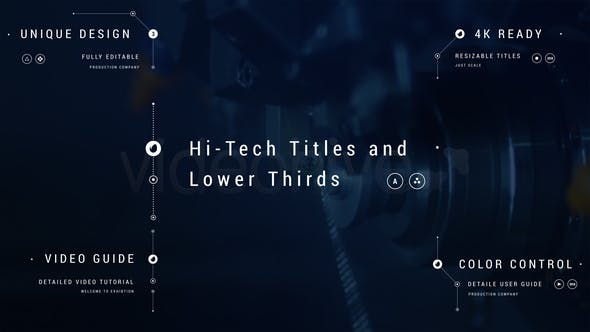 Hi-Tech Titles and Lower Thirds