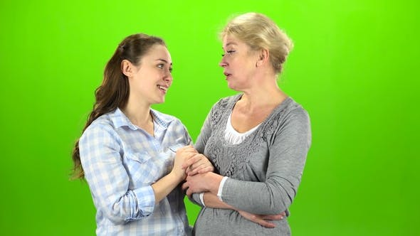 Thumbnail for Mom and Daughter on Talking