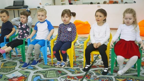 Children's Developing a Game Room. Emotions of Young Children During Entertaining Classes