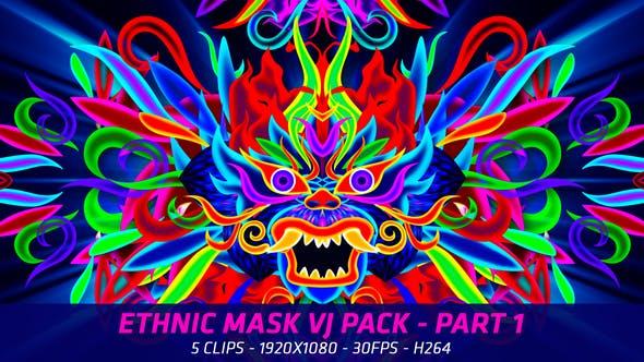 Cover Image for Ethnic Mask VJ Packs