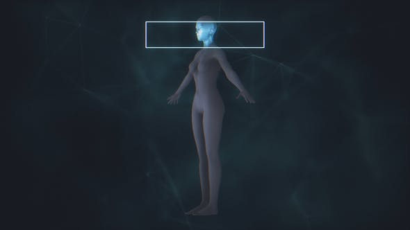 Thumbnail for X-Ray Female Body Scan