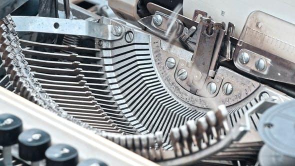 Thumbnail for Detail of Retro Typewriter