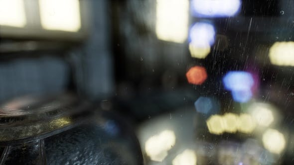 Thumbnail for Urban Scene at Rainy Night