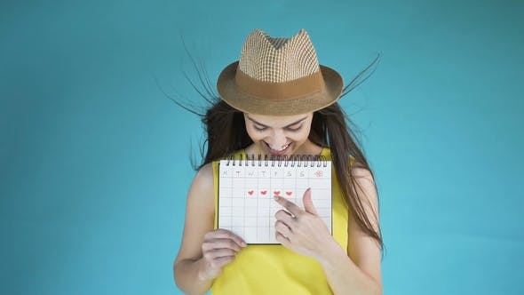 Thumbnail for Girl with Calendar