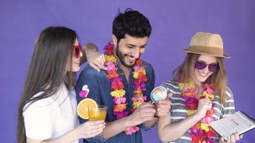Friends Decide on Holiday Destination