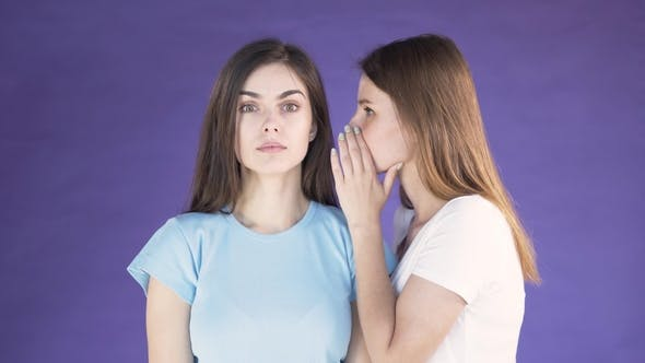Woman Tells a Rumour