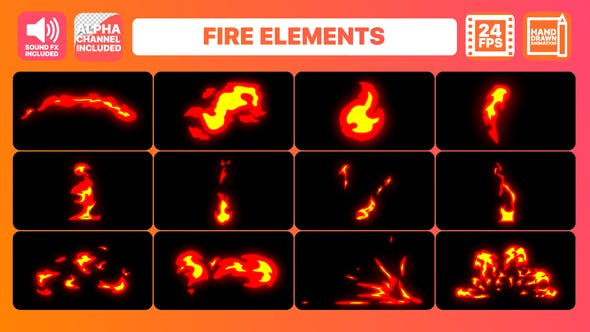 Thumbnail for Fire Elements Pack