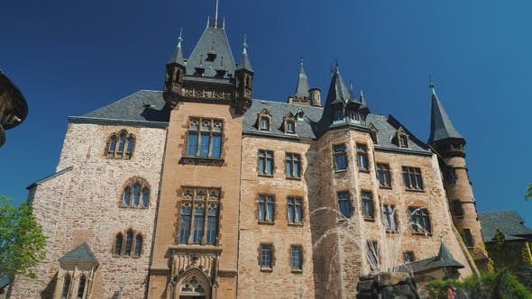 Thumbnail for Wernigerode Castle Is a Schloss Located in the Harz Mountains Above the Town of Wernigerode in