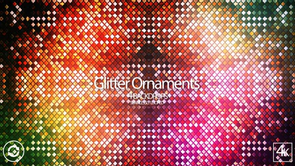 Thumbnail for Glitter Ornaments