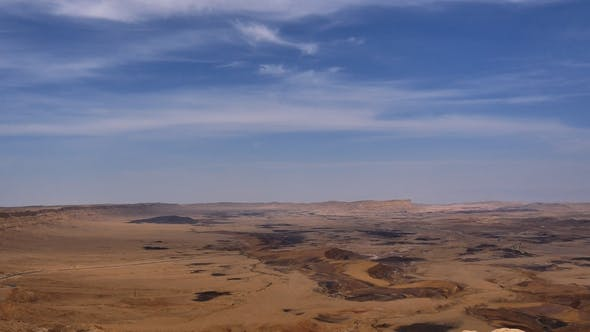 Cover Image for View of Stone Desert with Clear Blue Sky