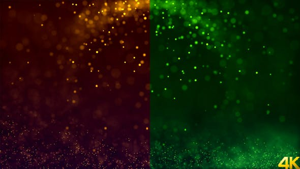 Magic Particles Background