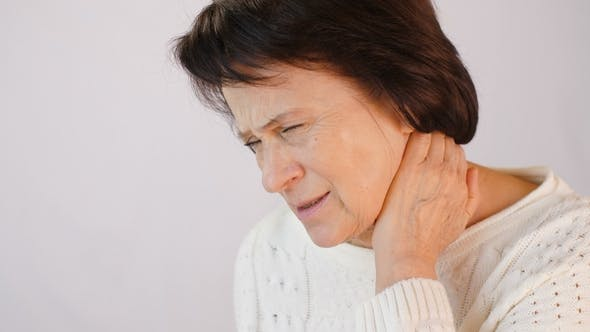 Thumbnail for Woman with Severe Pain in the Neck