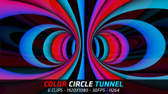 Thumbnail for Color Circle Tunnel
