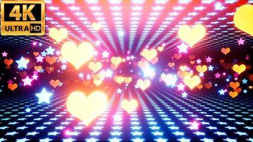 Herzen und Sterne 4k