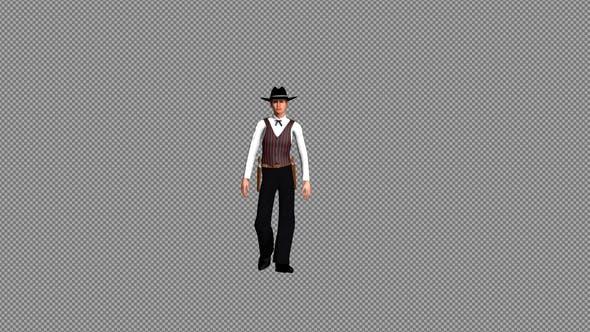 Thumbnail for Western Cowboy Walking