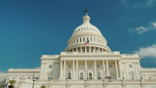 The Majestic Capitol Building in Washington, DC