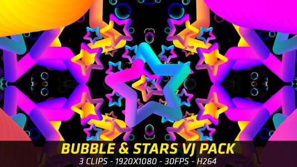 Thumbnail for Bubble & Stars VJ Pack