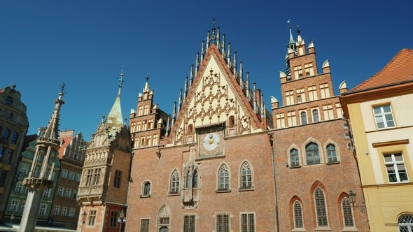 Thumbnail for The Building of the Ancient City Hall in Wroclaw, Poland