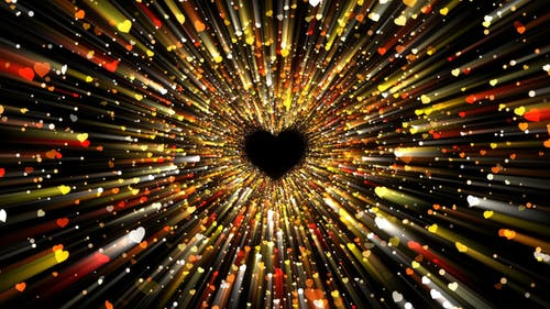 Hearts Particles