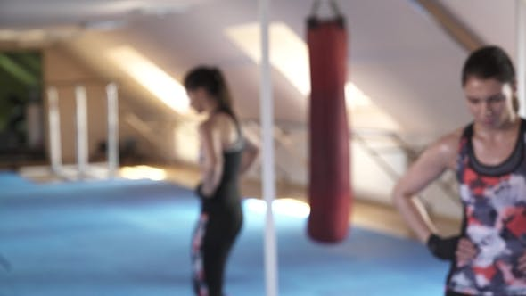 Thumbnail for Beautiful Woman After a Hard Workout Enters the Frame and Looks Directly Into the Camera