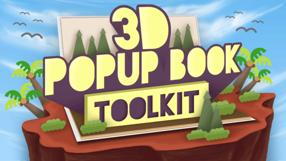 Thumbnail for 3D Popup Book Toolkit - Apple Motion & Final Cut Pro X