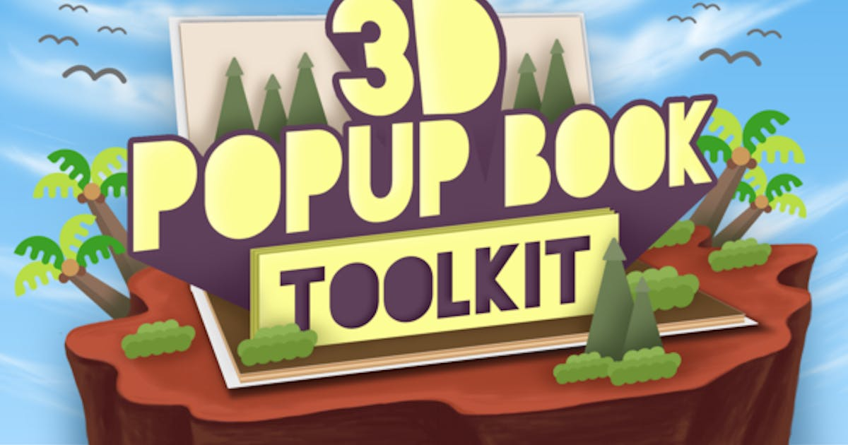 Download 3D Popup Book Toolkit - Apple Motion & Final Cut Pro X by digitalproducts669