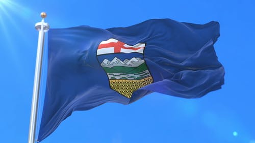 Flag of Canadian Province of Alberta