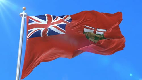 Flag of Canadian Province of Manitoba