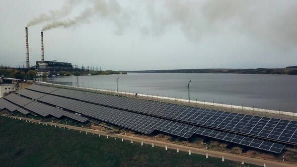 Thumbnail for Solar Panels Near the River
